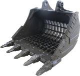 Cubeta de esqueleto não padronizada para toda a máquina escavadora do tipo