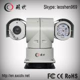 câmera de alta velocidade do CCTV do veículo PTZ IR da visão noturna de 100m com limpador