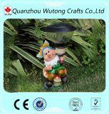 O jardim da resina Crafts a decoração clara solar dos Figurines dos Gnomes