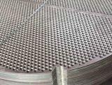 Pente titanique titanique 9/3.7195/Ti-3Al-2.5V/UNS R56320 de TubeSheets ASME SB381 de plaques de maintien de plaques à tuyaux de cloisons de feuilles de tube de l'alliage ASTM B381 GR9