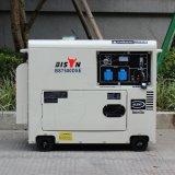 Bison (China) BS6500dse Preço de fábrica 5kw 5kVA 5000W Key Start Tempo prolongado Gerador de diesel silencioso portátil refrigerado a ar