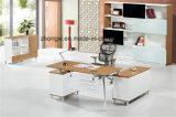 現代様式のオフィスのプロジェクトのための管理の机の金属のベニヤマネージャ表
