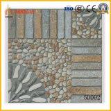 400x400mm empedrado de piedra del azulejo de suelo rústico para el jardín
