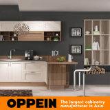 Laca Fosco moderno Oppein madeira laminado armário de cozinha (PO16-024)