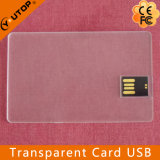 Memoria Flash trasparente del USB della carta di credito del regalo speciale (YT-3114-02)