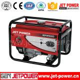 Generador refrigerado portable de la gasolina de Genset 2.5kw 2500W
