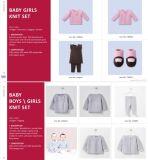 Commerce de gros ensembles de tricot de coton Dernière Kids chandail de cachemire pour bébé Les filles