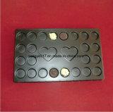 Ps-schwarzes Schokoladen-Blasen-Verpackungs-Tellersegment