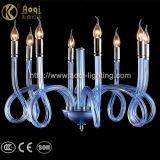 現代簡単な淡いブルーの吊り下げ式ライト