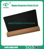 Natural Cork and Rubber Custom Printed Yoga Mat Cork Yoga Mat Antislip
