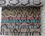 新しい到着の高品質PUのヘビ袋のハンドバッグの革(K526)