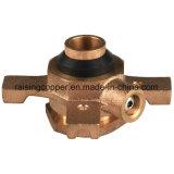 Válvula de bola de bronce para el fabricante del medidor de agua