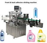Doppelte Seiten-Etikettiermaschine runde Flasche und flache selbstklebende Etikettiermaschine