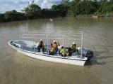 Liya 7.6m Fiberglas-Boot für das Transportieren von Waren und von Leuten mit Außenbordmotor