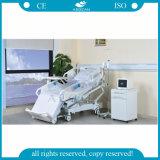 AG-Br001 8-Functions elektrisches ICU Bett des Krankenhaus-mit eingebettetem Bediener