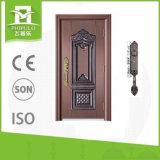 China-heiße Verkaufs-Vorderseite-Eintrag-Tür-Stahlsicherheits-Türen für Bauvorhaben