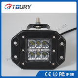 12V 24V Auto zusätzliche 18W CREE LED nicht für den Straßenverkehr fahrende Arbeits-Lichter