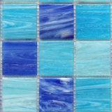 Mozaïek 48by48mm van het glas Blauwe Kleur