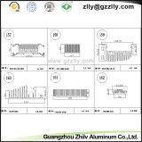 De multifunctionele Uitdrijving die van het Aluminium van het Bouwmateriaal Heatsink met het Anodiseren gieten