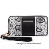 Het Leer van de Slang Pu van de ontwerper Dame Wallet Fashion Card Wallet