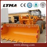 Máquina da construção carregadores amplamente utilizados da roda de 5 toneladas em Europa