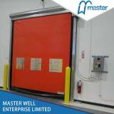 Laminación automática de puertas de PVC /Remote Contrl puerta rodante de alta velocidad