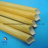 Use poliuretano recubierto de fibra de vidrio resistente a la manga de aislamiento térmico
