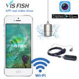 Receptor sem fio de 1,2 GHz que recebe sistema de câmera de busca de peixes subaquáticos de longa distância de 30 metros (Vis Fish 2)
