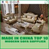 Modernes europäisches Chesterfield-ledernes Sofa