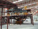 Semi-automatique Artificial Quartz Stone Slab Production Line & Press Machine