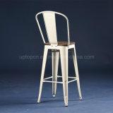 (SP-MC041W) Bancadas de assento de madeira industriais de alta barra alta branca