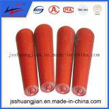 Aço dobro da seta e de frição do HDPE rolo para ajustar o desvio da correia