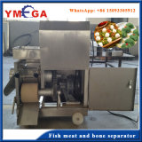 Het gemakkelijke Automatische Visvlees en het Been die van de Verrichting Machine scheiden