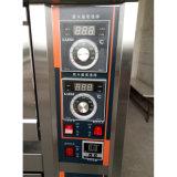 De in het groot Oven van de Pizza van het Dek van de Apparatuur van de Bakkerij van het Gas voor Baksel 2decks 4trays