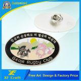 あらゆるロゴ(XF-BG08)の記念品のギフト3Dの金属メダルバッジを作る製造業者