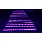 Los rayos UV de alta potencia LED bañador de pared de la luz de la barra de fase/Club/cafetería
