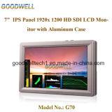 "Sdi/HDMI Input-Tally 7 "" LCD-Bildschirmanzeige"