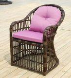 一定のPEの藤の家具5部分の藤の椅子の机の