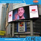 P10 DIP al aire libre pantalla LED Módulo de pantalla
