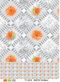 Venta al por mayor transparente impresa material de la fábrica del mantel del diseño del PVC (TJ0054)