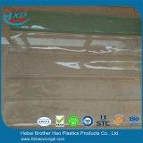 Atteindre la qualité coulissant en plastique transparent en PVC vert le bandeau de porte des feuilles de rideau