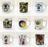 Stampa della tazza, stampa su ordinazione della tazza, stampa di ceramica della tazza
