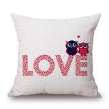 詰まらないで幸せなバレンタインデーのデジタルによって印刷されるソファーのクッションカバー(35C0077)