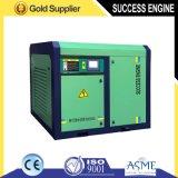 Compresor de aire certificado CE sin aceite del tornillo de la chamusquina (75KW, 8bar)