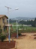 Réverbère solaire de RoHS 9m IP65 60W de la CE pour la route