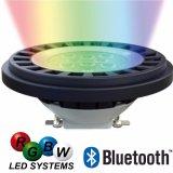 스포트라이트가 방수 RGBW에 의하여 PAR36 LED 점화한다