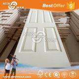 piel preparada blanca de la puerta de 3m m HDF