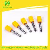 55 de Stevige Molen van het Eind van het Carbide HRC voor CNC van het Metaal de Specificatie van de Snijder van het Malen