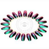 Het Pigment van de Parel van het Nagellak van de Spiegel van het Kameleon van het Chroom van de Kleur van het mica
