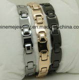 Männer und Frauen mit reinem Wolfram mit Gesundheitspflege-Magnet-Armband